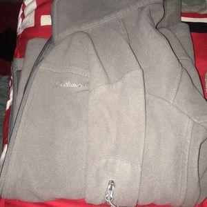 grey Columbia jacket